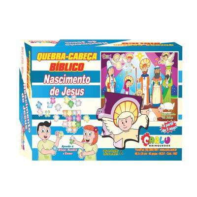 Quebra-Cabeça Bíblico - Nascimento de Jesus