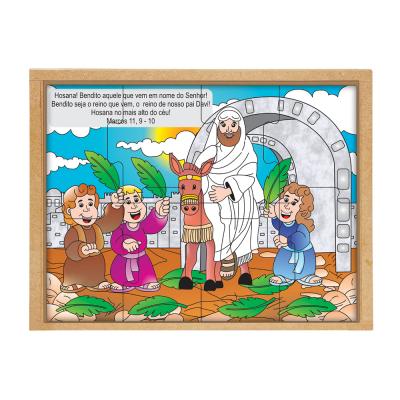 Quebra-cabeça Bíblico - Domingo de Ramos