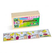 Sugestões de brinquedos para atividades educativas de matemática