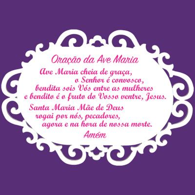 Quadro Ave Maria